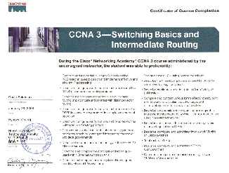 CCNA 3
